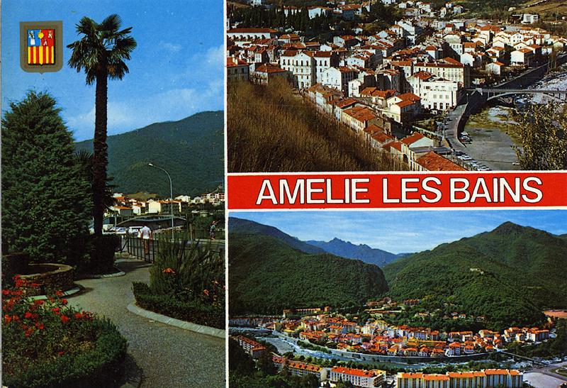 Languedoc roussillon cartes postales de f1adc - Office du tourisme amelie les bains 66 ...